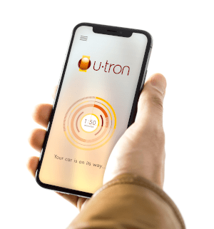 U-tron Automated Parking user App.