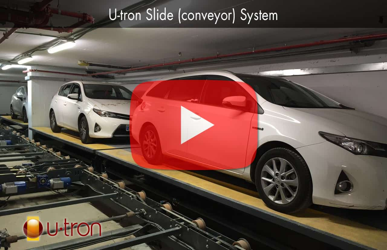 Watch a Conveyor Automated Parking System in action.