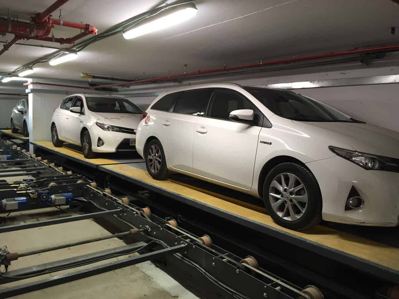 Conveyor Automated Parking System
