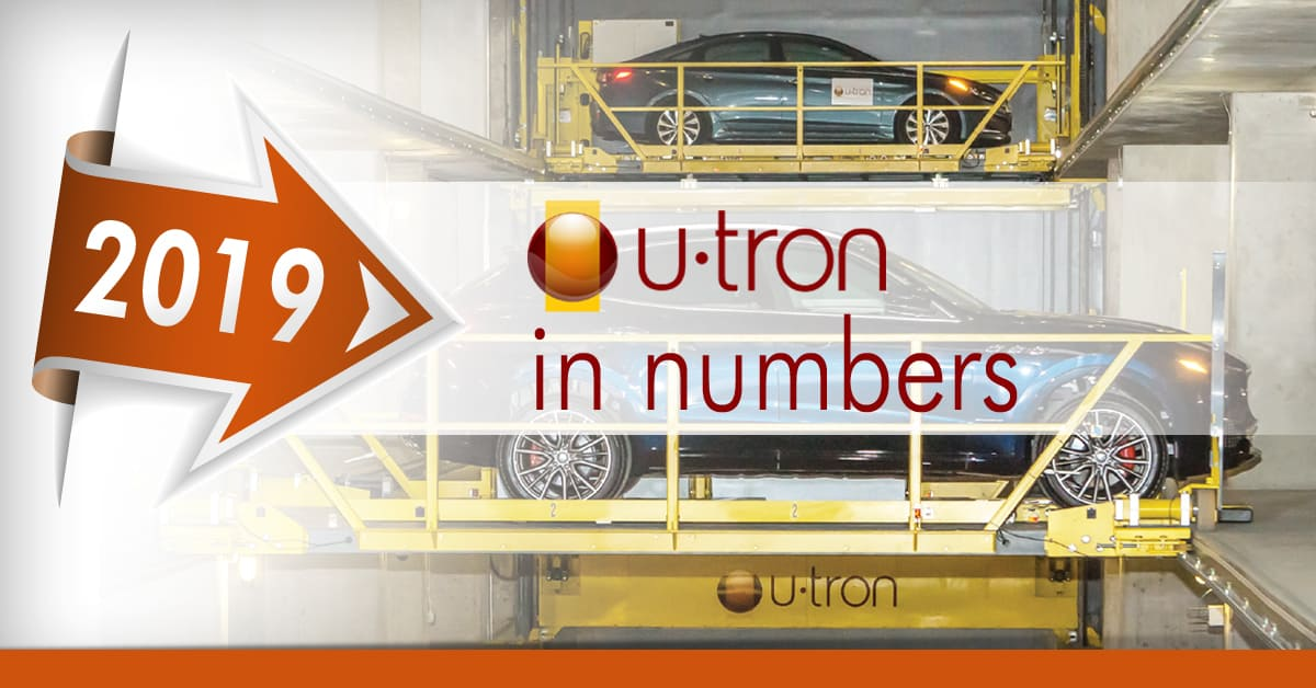 2019 Year recap of U-tron Automated PArking solutions
