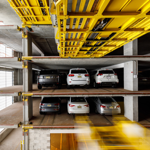 Automated parking system by U-tron